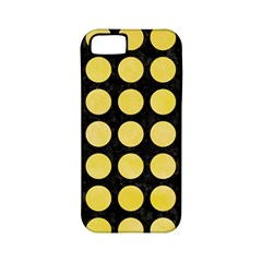 Circles1 Black Marble & Yellow Watercolor (r) Apple Iphone 5 Classic Hardshell Case (pc+silicone)
