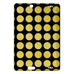 Circles1 Black Marble & Yellow Watercolor (r) Amazon Kindle Fire Hd (2013) Hardshell Case