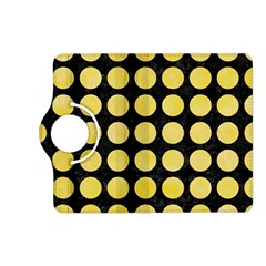 Circles1 Black Marble & Yellow Watercolor (r) Kindle Fire Hd (2013) Flip 360 Case