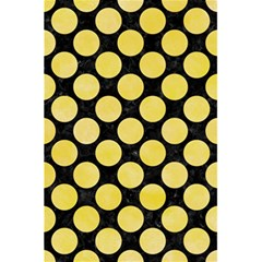 Circles2 Black Marble & Yellow Watercolor (r) 5 5  X 8 5  Notebooks