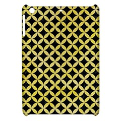Circles3 Black Marble & Yellow Watercolor (r) Apple Ipad Mini Hardshell Case