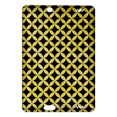 Circles3 Black Marble & Yellow Watercolor (r) Amazon Kindle Fire Hd (2013) Hardshell Case