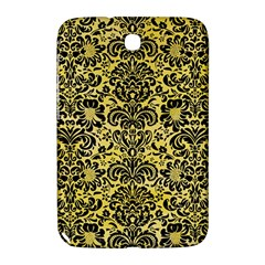 Damask2 Black Marble & Yellow Watercolor Samsung Galaxy Note 8 0 N5100 Hardshell Case