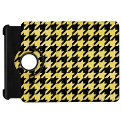 Houndstooth1 Black Marble & Yellow Watercolor Kindle Fire Hd 7