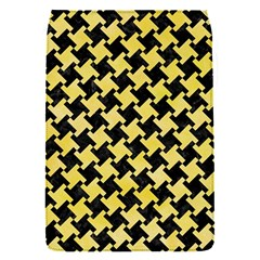 Houndstooth2 Black Marble & Yellow Watercolor Flap Covers (s)