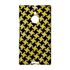 Houndstooth2 Black Marble & Yellow Watercolor Nokia Lumia 1520