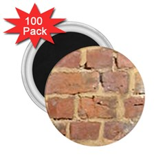 Brick Wall 2 25  Magnets (100 Pack)