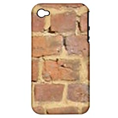 Brick Wall Apple Iphone 4/4s Hardshell Case (pc+silicone)
