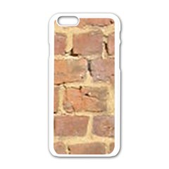 Brick Wall Apple Iphone 6/6s White Enamel Case