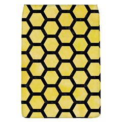 Hexagon2 Black Marble & Yellow Watercolor Flap Covers (l)