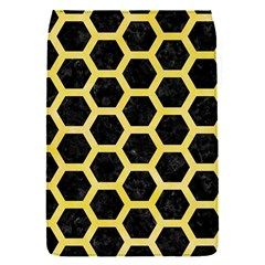 Hexagon2 Black Marble & Yellow Watercolor (r) Flap Covers (s)