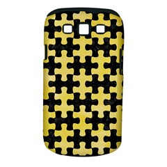 Puzzle1 Black Marble & Yellow Watercolor Samsung Galaxy S Iii Classic Hardshell Case (pc+silicone)