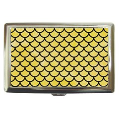 Scales1 Black Marble & Yellow Watercolor Cigarette Money Cases