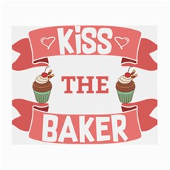 Kiss The Baker Small Glasses Cloth (2 Side)