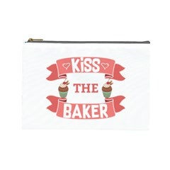 Kiss The Baker Cosmetic Bag (large)