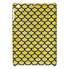 Scales1 Black Marble & Yellow Watercolor Apple Ipad Mini Hardshell Case
