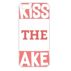 Kiss The Baker Apple Iphone 5 Seamless Case (white)