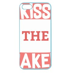 Kiss The Baker Apple Seamless Iphone 5 Case (color)