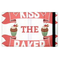 Kiss The Baker Apple Ipad 3/4 Flip Case