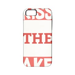Kiss The Baker Apple Iphone 5 Classic Hardshell Case (pc+silicone)