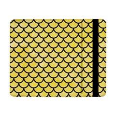 Scales1 Black Marble & Yellow Watercolor Samsung Galaxy Tab Pro 8 4  Flip Case