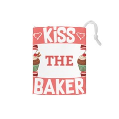 Kiss The Baker Drawstring Pouches (small)