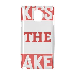 Kiss The Baker Samsung Galaxy Note 4 Hardshell Case