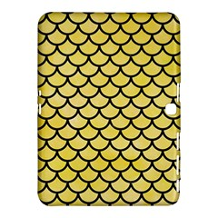 Scales1 Black Marble & Yellow Watercolor Samsung Galaxy Tab 4 (10 1 ) Hardshell Case