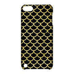 Scales1 Black Marble & Yellow Watercolor (r) Apple Ipod Touch 5 Hardshell Case With Stand