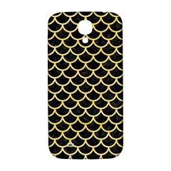 Scales1 Black Marble & Yellow Watercolor (r) Samsung Galaxy S4 I9500/i9505  Hardshell Back Case
