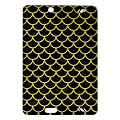 Scales1 Black Marble & Yellow Watercolor (r) Amazon Kindle Fire Hd (2013) Hardshell Case