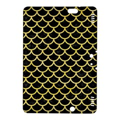 Scales1 Black Marble & Yellow Watercolor (r) Kindle Fire Hdx 8 9  Hardshell Case