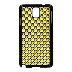 Scales2 Black Marble & Yellow Watercolor Samsung Galaxy Note 3 Neo Hardshell Case (black)