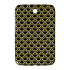 Scales2 Black Marble & Yellow Watercolor (r) Samsung Galaxy Note 8 0 N5100 Hardshell Case