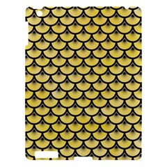 Scales3 Black Marble & Yellow Watercolor Apple Ipad 3/4 Hardshell Case