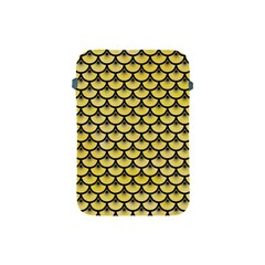 Scales3 Black Marble & Yellow Watercolor Apple Ipad Mini Protective Soft Cases