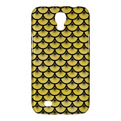 Scales3 Black Marble & Yellow Watercolor Samsung Galaxy Mega 6 3  I9200 Hardshell Case