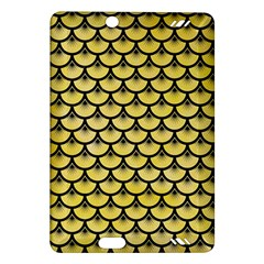 Scales3 Black Marble & Yellow Watercolor Amazon Kindle Fire Hd (2013) Hardshell Case