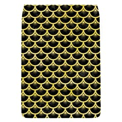 Scales3 Black Marble & Yellow Watercolor (r) Flap Covers (s)