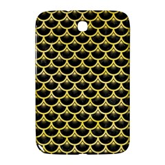 Scales3 Black Marble & Yellow Watercolor (r) Samsung Galaxy Note 8 0 N5100 Hardshell Case