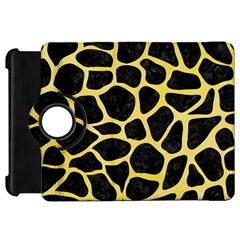 Skin1 Black Marble & Yellow Watercolor Kindle Fire Hd 7