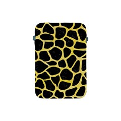 Skin1 Black Marble & Yellow Watercolor Apple Ipad Mini Protective Soft Cases