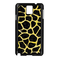 Skin1 Black Marble & Yellow Watercolor Samsung Galaxy Note 3 N9005 Case (black)