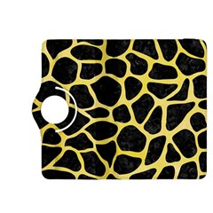 Skin1 Black Marble & Yellow Watercolor Kindle Fire Hdx 8 9  Flip 360 Case