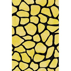 Skin1 Black Marble & Yellow Watercolor (r) 5 5  X 8 5  Notebooks