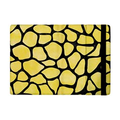 Skin1 Black Marble & Yellow Watercolor (r) Apple Ipad Mini Flip Case