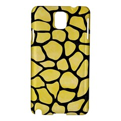Skin1 Black Marble & Yellow Watercolor (r) Samsung Galaxy Note 3 N9005 Hardshell Case