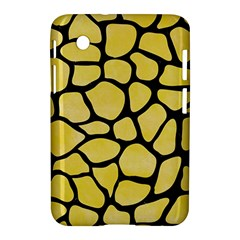 Skin1 Black Marble & Yellow Watercolor (r) Samsung Galaxy Tab 2 (7 ) P3100 Hardshell Case