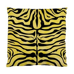 Skin2 Black Marble & Yellow Watercolor Standard Cushion Case (one Side)