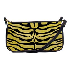 Skin2 Black Marble & Yellow Watercolor Shoulder Clutch Bags